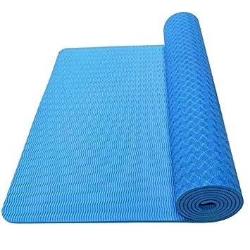 Ollt TPE Yoga Mat Antideslizante Respetuoso con El Medio ...