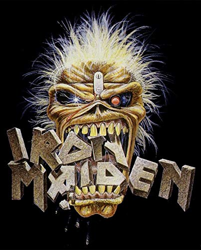 Iron Maiden Banners - Iron Maiden Iron On Transfer for T-Shirts & Other Light Color Fabrics #2