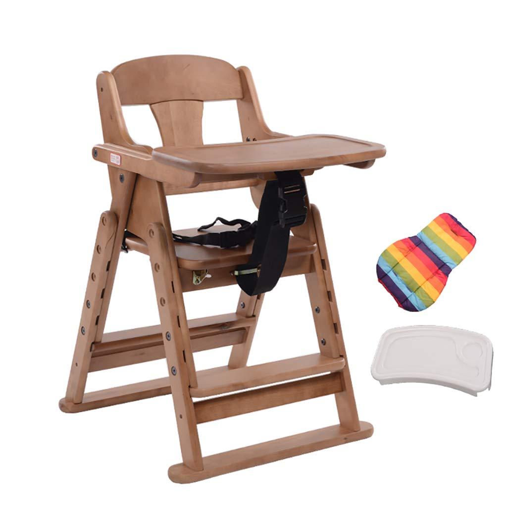 赤ちゃんの高いスツール食べるチェア子供ダイニングチェアシート単線の折り畳み式伸縮式の調節可能な高さ (色 : B)  B B07L8CCY9X