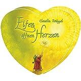 Elfen öffnen Herzen. 49 farbige Herzkarten (9 x 10 cm) in Herzbox