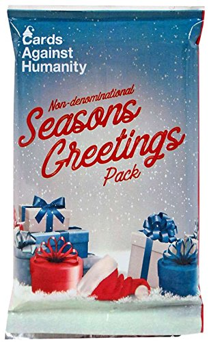 Amazon cards against humanity non denominational seasons cards against humanity non denominational seasons greetings expansion pack m4hsunfo