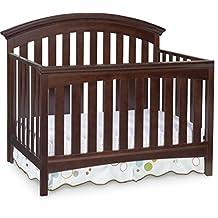 Delta Children Bentley 4-in-1 Convertible Crib, Chocolate