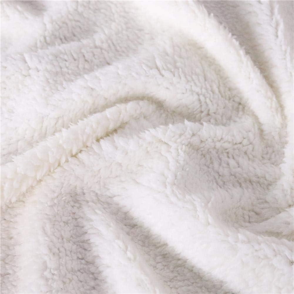 Sherpa Velvet Plush Throw Blanket Tropical Plant Toucan Birds Print Bed Cover