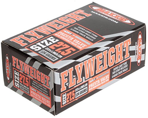 Maxxis Presta Valve Flyweight Tubes, 27.5 x 1.9 x 2.125-Inch