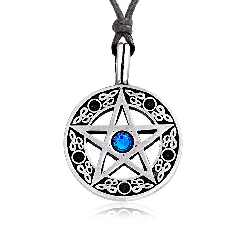 devil pentagram necklace - 5