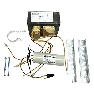 SYLVANIA 47739-4 - 4 Tap - 400 Watt - Metal Halide Ballast - ANSI M59 - Power Factor 90 - Max Temp Rating 212 Deg. F - Pre-Wired - Includes Dry Capacitor and Bracket Kit