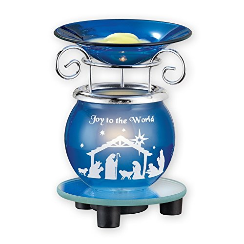 Warm Christmas Scene - Wax Warmer with Christmas Nativity Scene