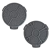 First4spares Round Carbon Filters for CATA Cooker Hoods (Pack of 2)