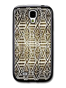 AMAF ? Accessories Aztec Geometric Pattern Wood case for Samsung Galaxy S4