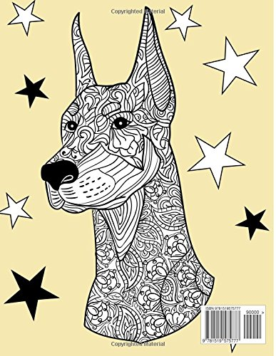 Dog Lover Adult Coloring Book Best Gifts For Mom Dad Friend Women Men And Adults Everywhere Beautiful Dogs Stress Relieving Patterns