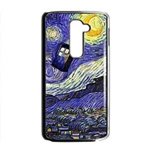 HRMB Van gogh starry night paintings Cell Phone Case for LG G2