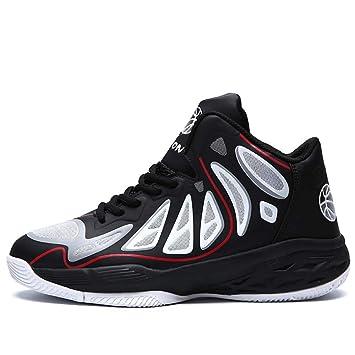 e4685b2d5b6e9 HYLFF Chaussures de Basket-Ball Hommes Haute Technologie de Choc élastique  Sport Toutes Les étoiles