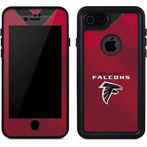 - Skinit Atlanta Falcons iPhone 8 Waterproof Case - Officially Licensed NFL Phone Case - Waterproof iPhone 8 Cover