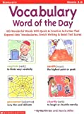 Vocabulary Word of the Day, Martin Lee and Marcia Miller, 0439077494