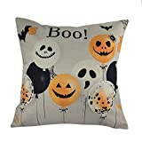 WFeieig_Halloween Cozy Bolster Pillow Cover Case for Couch Sofa Bed Comfortable Super Soft Corduroy Corn Striped Both Sides