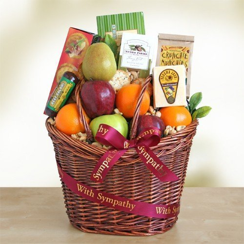 Sympathy Fruit Gift Basket by Gift Baskets to Impress by Gift Baskets to Impress