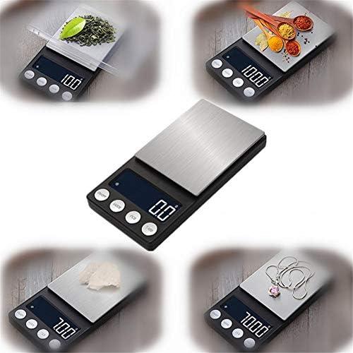 Bilancia elettronica da cucina ad alta precisione500g /0.1 Bilancia da cucina elettronica digitale LCD Bilancia per alimenti Bilancia portatile