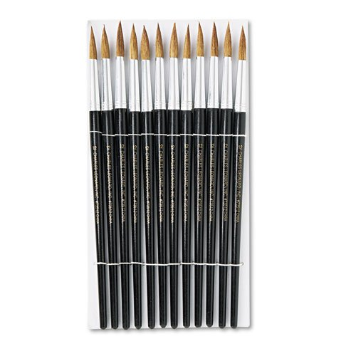 Charles Leonard Water Color Paint Brushes with