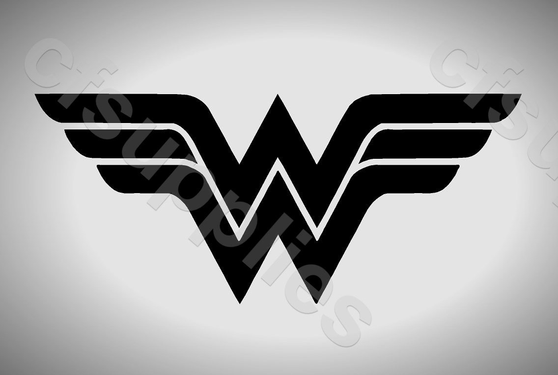 Wall Art Marvel Wonder Woman Logo Airbrush A5 Stencil Genuine Mylar Re-Useable *New Thicker 190 micron* Paint Stencil