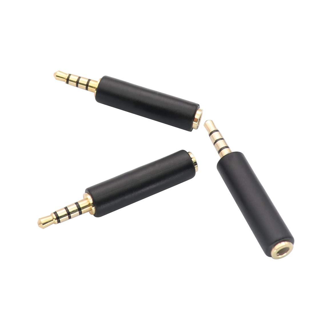 3,5 mm auf 3 RCA AV Camcorder Video Kabel f/ürTV-Box//MP3//PC 3,5 mm auf 3 RCA Stecker zu Cinch Stereo Audio Video Stecker AUX Kabel 1,5 m