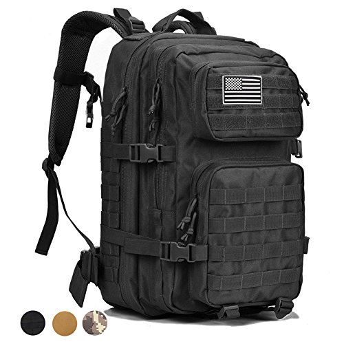 Military Tactical Backpack Large Assault Pack 3 Day Army Rucksacks Outdoor Hunting Backpacks 42L