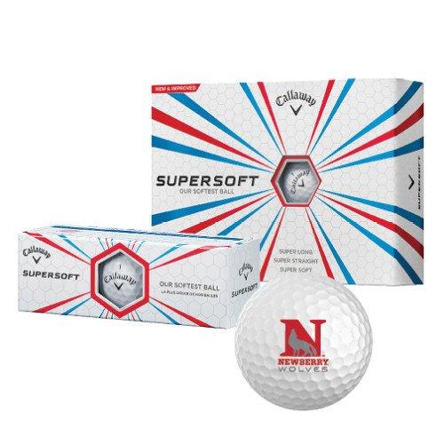 Newberry Callaway Supersoft Golf Balls 12/pkg 'Official Logo' by CollegeFanGear