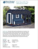 gable roof design DIY Chicken Coop / Hen House 4 ft x 8 ft Gable / A Frame Roof Style Project Plans, Design 70408RG