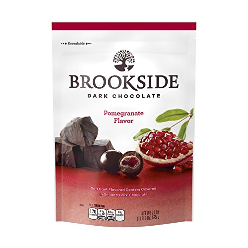 BROOKSIDE Dark Chocolate Candy, Pomegranate Flavor, 21 Ounce Bag