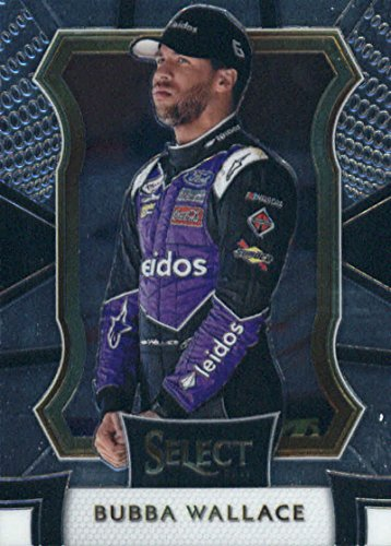 2017 Panini Select  99 Bubba Wallace Leidos Roush Fenway Racing Ford Racing Card