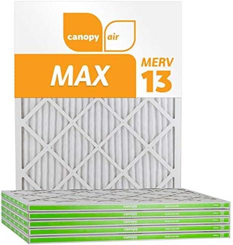 Canopy Air Results Luftfilter für AC und Ofen MERV 13 16x25x1 weiß