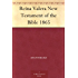 Reina Valera New Testament of the Bible 1865 (Spanish Edition)