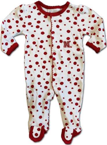 Polka Dot Footed Creeper (Nebraska Cornhuskers) - University of Nebraska (Newborn)