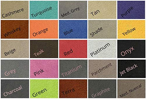 "Synergy II Suede Headliner Fabric 1/8 Foam Backed 60"" Wide Sold by 108""x 60"" (Tan)"