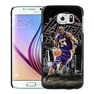 New Custom Design Cover Case For Samsung Galaxy S6 Kobe Bryant 11 Black Phone Case
