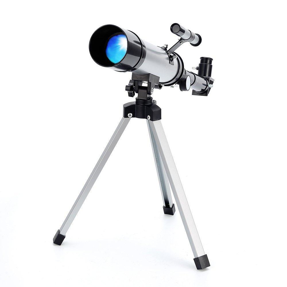 Telescope Star Finder with Tripod F36050 HD Zoom Monocular Space Astronomical Spotting Scope for Kids and Beginner by Merkmak