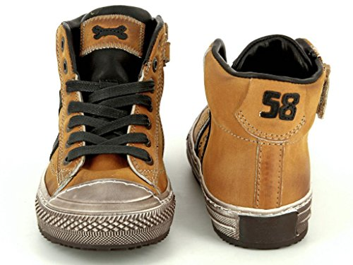 Stones and Bones Tupac 2765 ocre Kinder Boot in Mittel Ocre