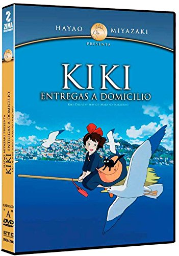 Kiki - Entregas a Domicilio (Kiki's Delivery Service) [NTSC/Region 1 and 4 dvd. Import - Latin America] by Hayao Miyazaki (Spanish subtitles)