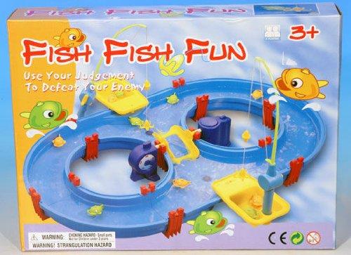 Wasserstraße Wassersystem mit Spiel Fische fangen Wasserspielset