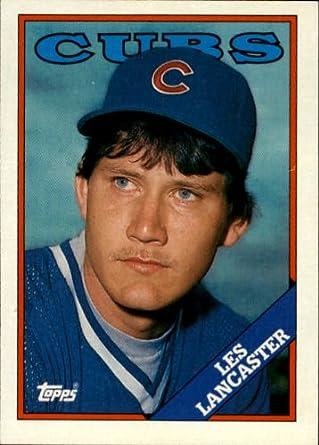 Amazoncom 1988 Topps Baseball Card 112 Les Lancaster Mint