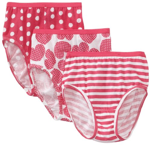 Hanes Big Girls'   Brief (Pack of 3), Assorted, 10