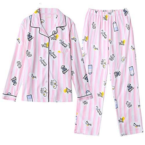 Ragazza Righe Color Sonno Pigiameria Mmllse Homewear A Moda Pigiama Notte Abito Vestire Carina Da Photo Rq6wEtw