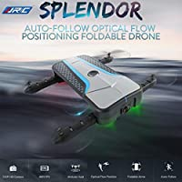 RC Quadcopter Drones with 720P Camera, JJRC H62 Mini Foldable Pocket FPV Drone Selfie Optical Flow Positioning WIFI High-definition Transmission Image