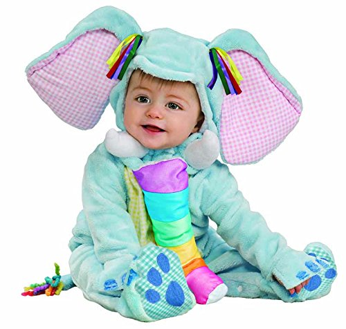 Noah's Arc Elephant Infant Costume(6-12 Months-As Shown) (Halloween Costumes International Shipping)