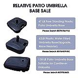 LOKATSE HOME Patio Outdoor Umbrella Base Stand