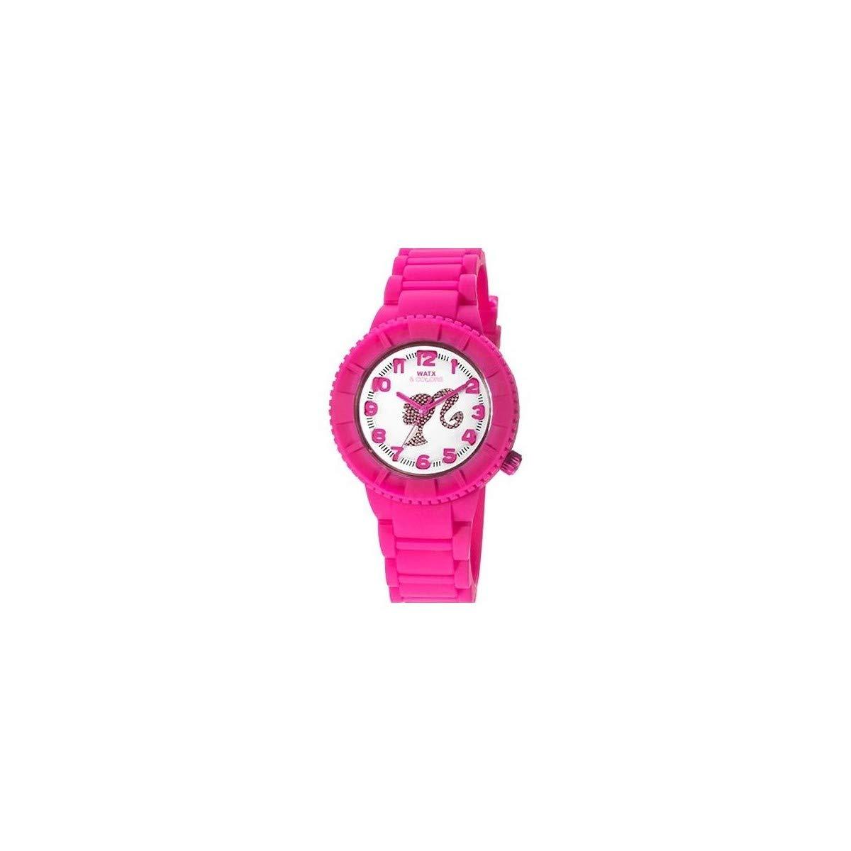 Watx Reloj Análogo clásico para Mujer de Cuarzo con Correa en Caucho RWA1151: Amazon.es: Relojes