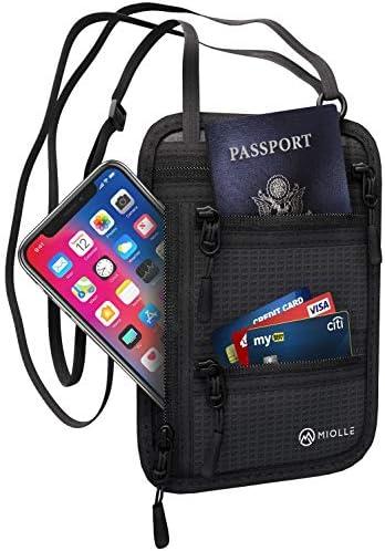 Neck Wallet Passport Waterproof Security