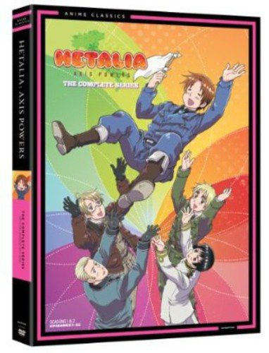DVD : Hetalia: Axis Powers Complete Series - Classic (4 Disc)