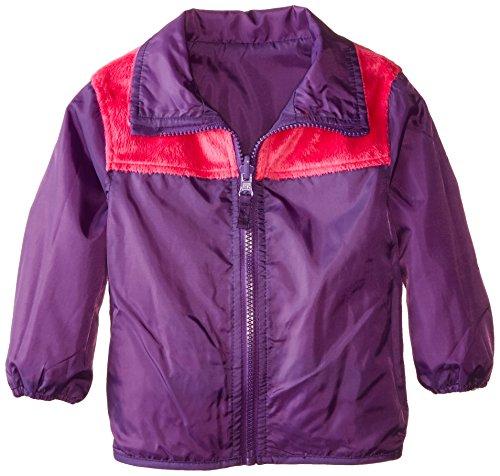 London Fog Baby-Girls Infant Reversible Fleece Jacket, Pink, 18 Months