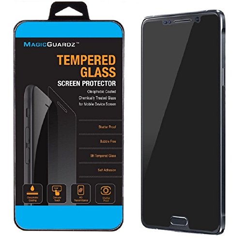 Tinted Tempered Glass (MagicGuardz, Made for Samsung Galaxy Note 5, Privacy Anti-Spy Tempered Glass Screen Protector Shield, Retail Box)