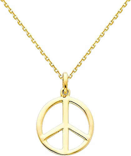 The World Jewelry Center 14k Yellow Gold Key Pendant with 1.2mm Singapore Chain Necklace
